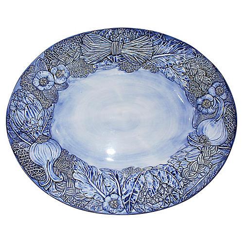Italian Faience Platter