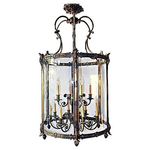 Monumental Minka Lantern Chandelier