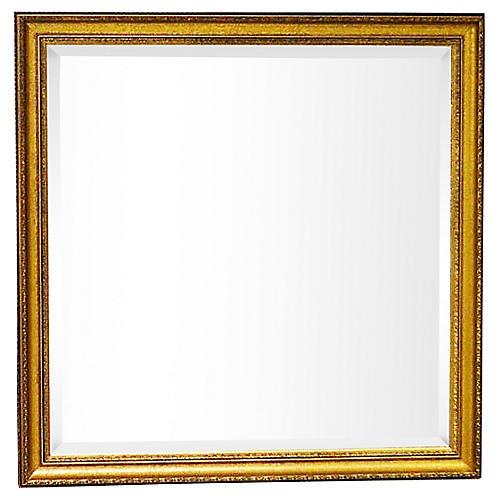 Square Gilt Mirror
