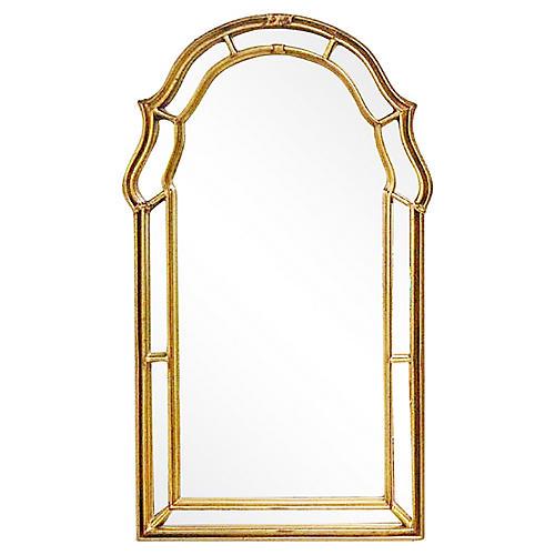 Keyhole Gilt Mirror