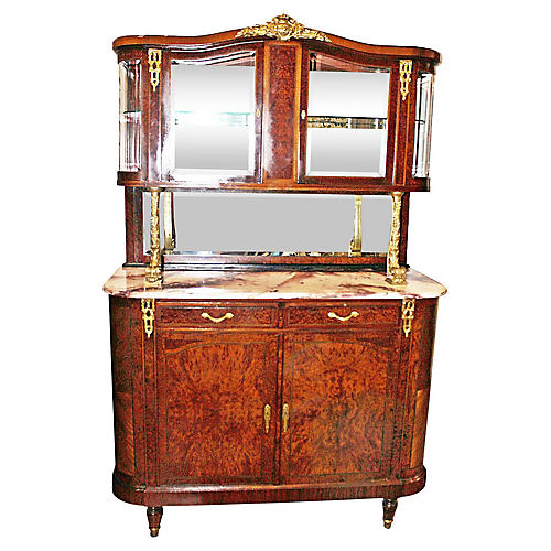 French Buffet Hutch
