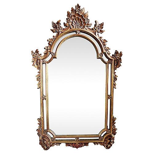 French-Style Louis XIV Mirror