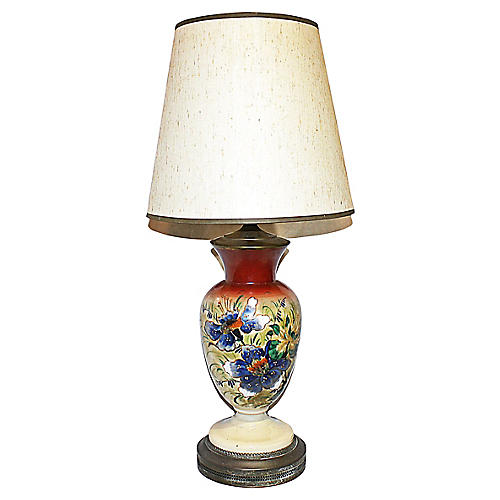 Bristol Hand-Painted Lamp