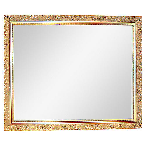 Gilt Filigree Mirror