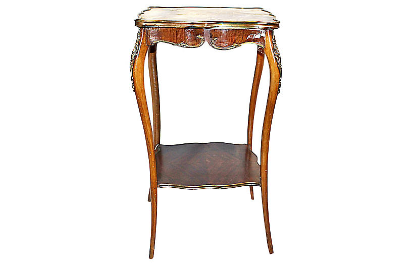 Antique French Rosewood Side Table