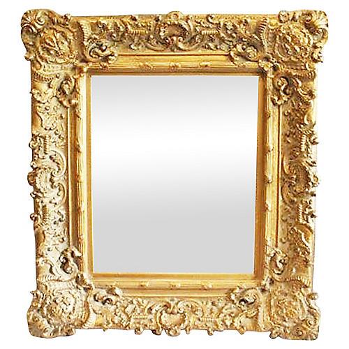 Baroque-Style Gilded Mirror