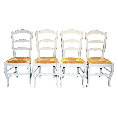 French Country Chairs, S/4