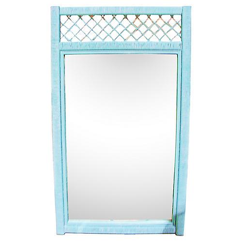 Henry Link Wicker Mirror
