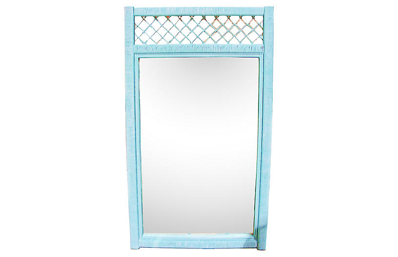 Henry Link Wicker Mirror