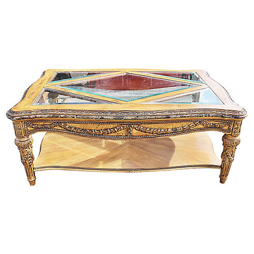 Louis XVI-Style Coffee Table