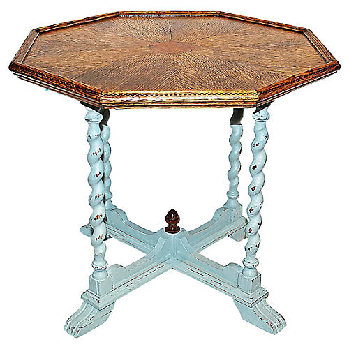 Antique Octagonal Side Table