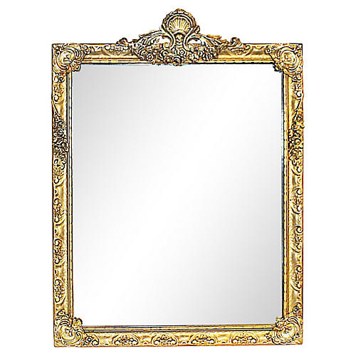 Hollywood Regency Mirror