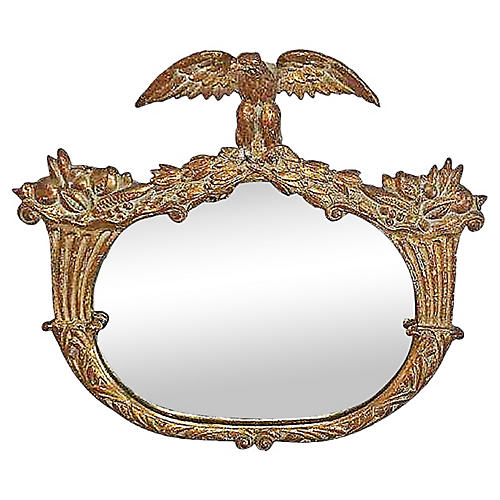 Gilt Eagle Mirror