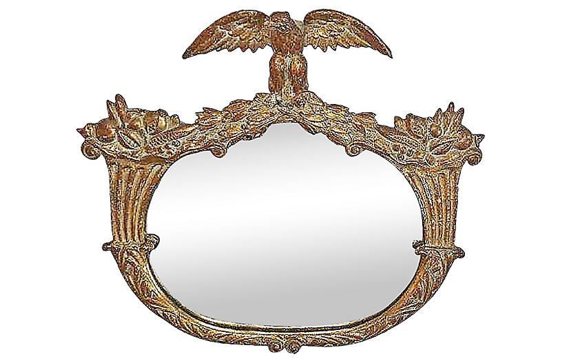 Gilt Eagle Mirror