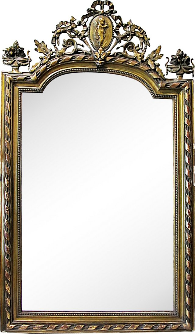 19th-C. French Mirror