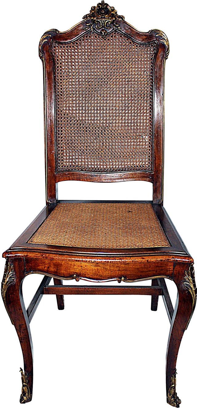 19th-C. French Louis XV-Style Chair