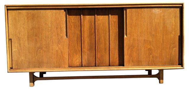 Mid-Century Modern 12-Drawer  Credenza