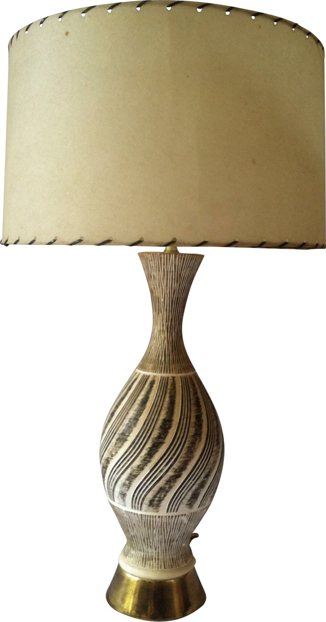 Midcentury Lamp by F.A.I.P.