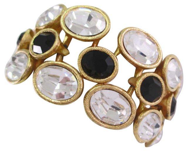 1980s Napier Headlight Bracelet