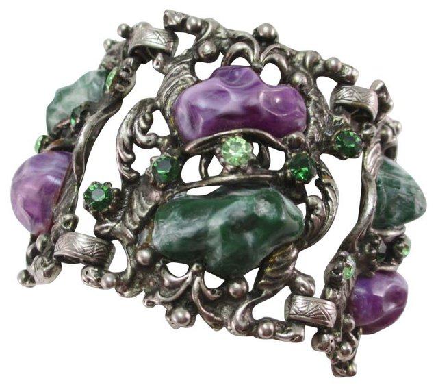 Victorian Revival-Style Bracelet