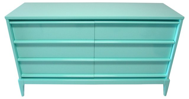 Mid-Century Modern Lacquered Chest