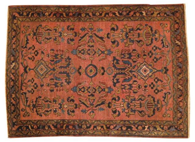 """Antique Persian Lilihan, 4'4"""" x 3'4"""""""
