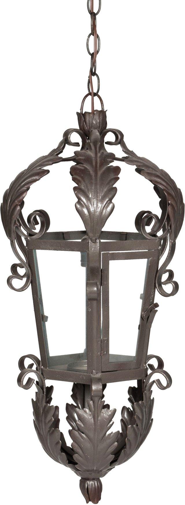 Bronze Powder-Coated Pendant