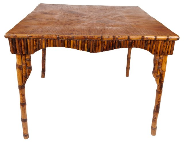 Bamboo Game Table