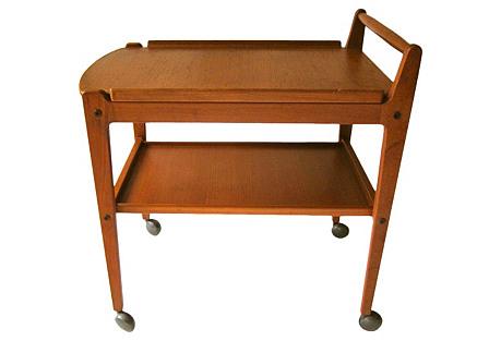 Midcentury Swedish Bar Cart