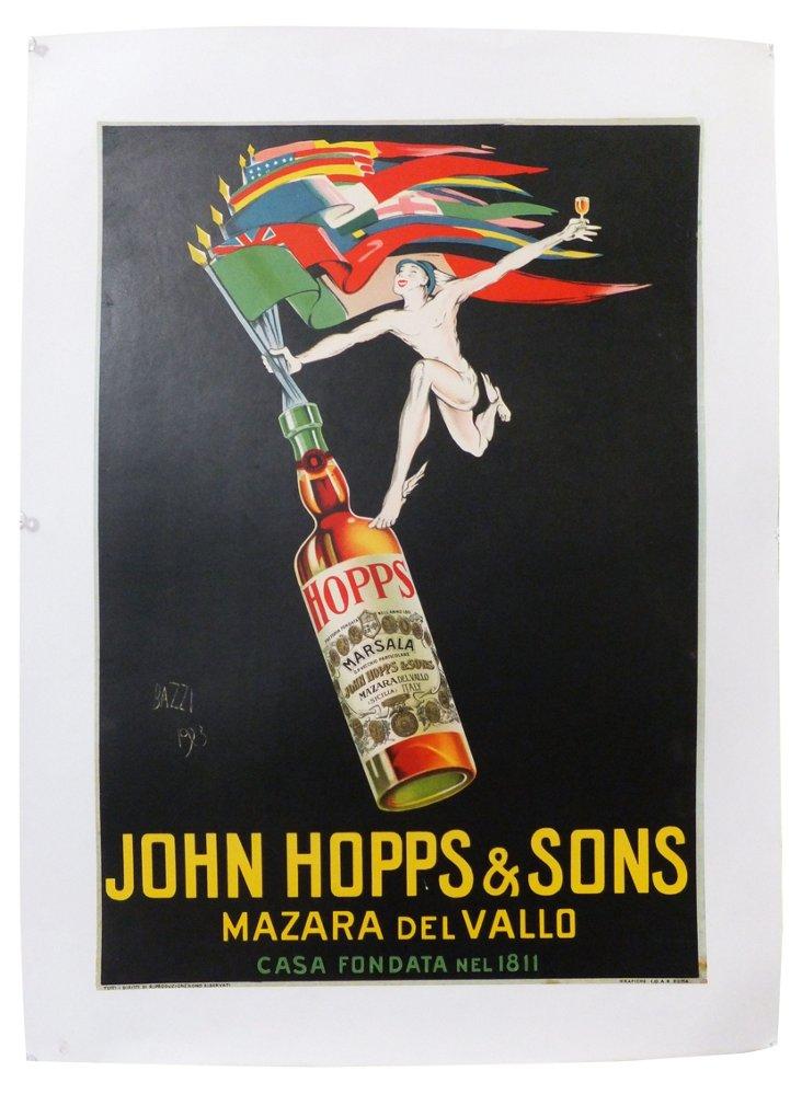John Hopps & Sons Poster, C. 1925