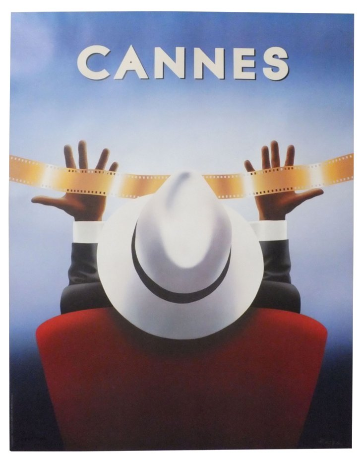 Cannes Film Poster
