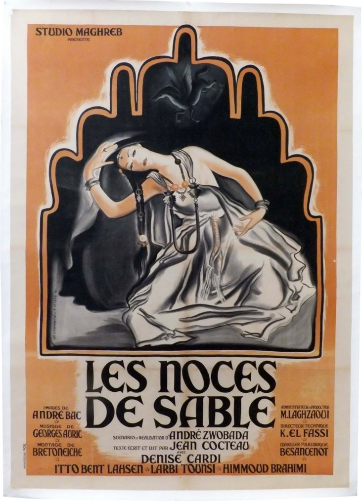 Les Noces de Sable Movie Poster