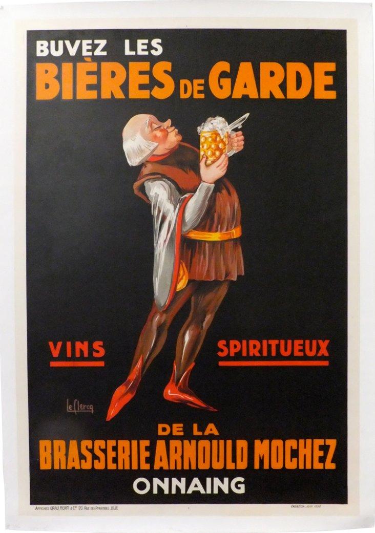 Bières de Garde Poster