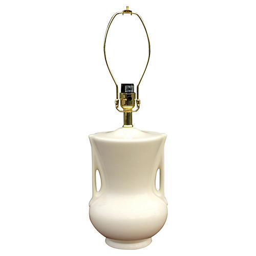 Porcelain Urn Lamp
