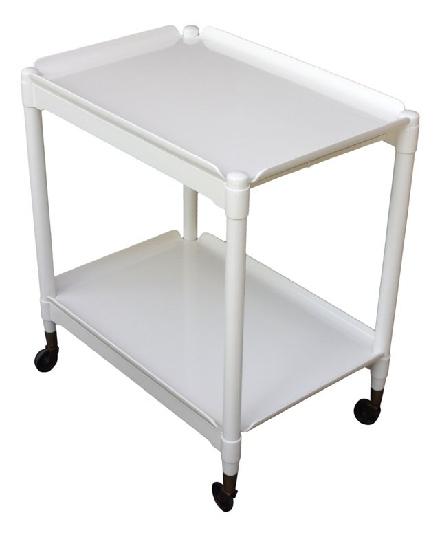 2-Tier Cart w/ Removable Trays