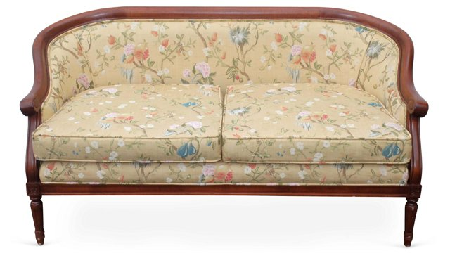 Curved-Back   Settee