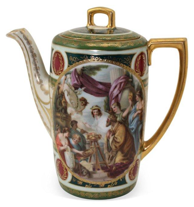 Royal Vienna  Teapot