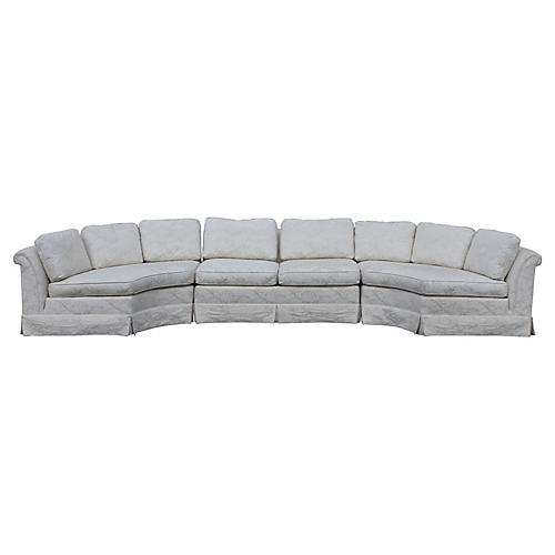 1970s Baker Sectional Sofa