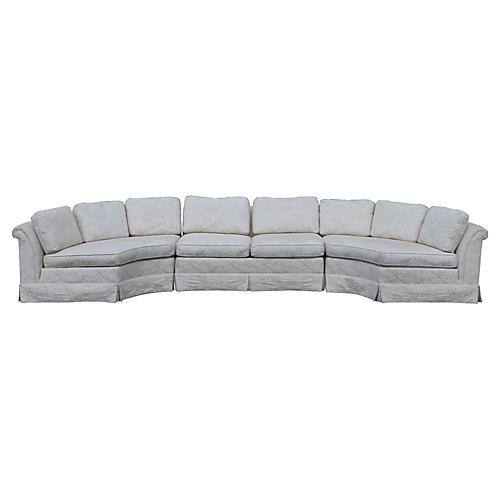 1970s Baker Sectional Sofa