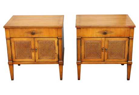 '60s Henredon Nightstands, S/2