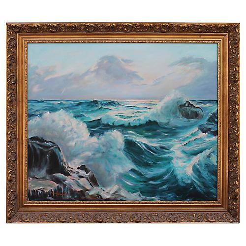 Seascape by Helen Schwartz