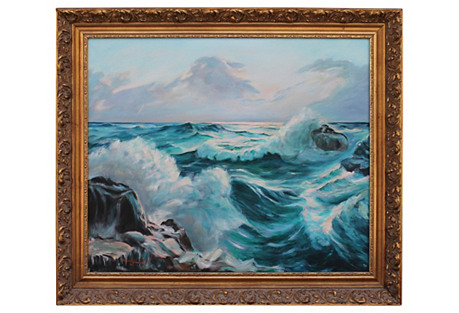 Seascape by Helen Schwartz