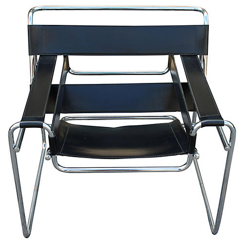 Midcentury Wassily-Style Chair