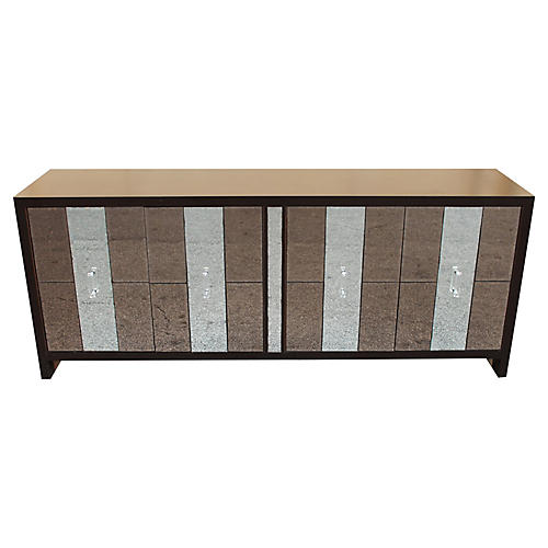 1970s Mirrored Sideboard