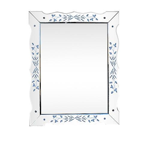Monumental Carved Mirror