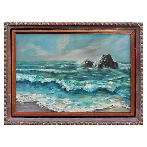 1940s Seascape