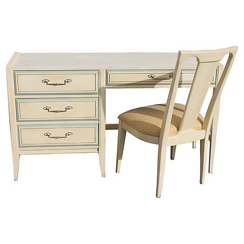 1960s Desk & Chair