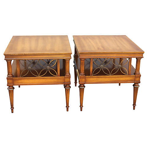 Neoclassical-Style Tables, S/2