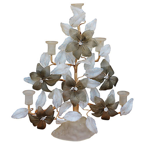 1940s Murano 5-Light Candelabrum