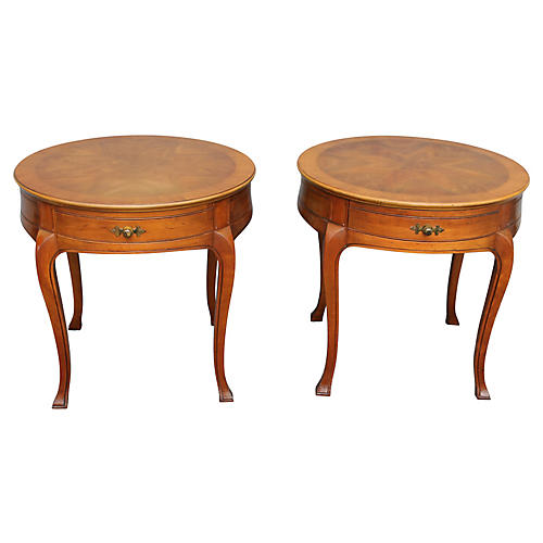 John Widdicomb Side Tables, Pair